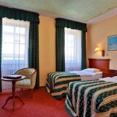 Отель Meteor Plaza Prague Чехия, Прага - 6 отзывов об отеле, цены и фото номеров - забронировать отель Meteor Plaza Prague онлайн комната для гостей фото 5