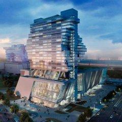 Отель Langham Place, Guangzhou вид на фасад фото 2