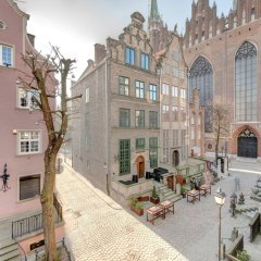 Апартаменты Gdansk Old Town Apartments балкон