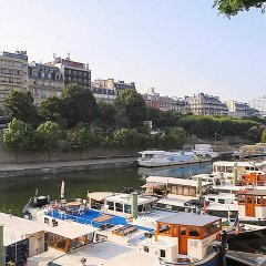 Отель Adagio Paris Buttes Chaumont Париж пляж