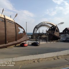 Гостиница Колумбус Одесса парковка