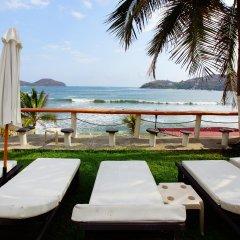 Отель Villas Miramar пляж