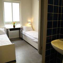 The Post Hostel Израиль, Иерусалим - 3 отзыва об отеле, цены и фото номеров - забронировать отель The Post Hostel онлайн ванная фото 2