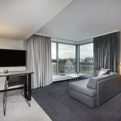 Отель Adina Apartment Hotel Hamburg Speicherstadt Германия, Гамбург - 1 отзыв об отеле, цены и фото номеров - забронировать отель Adina Apartment Hotel Hamburg Speicherstadt онлайн комната для гостей фото 3