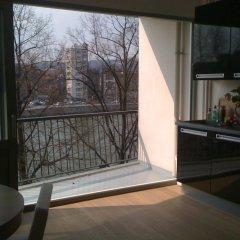 Отель Passerelle - Studio 3rd Floor River View - ZEA 39138 Бельгия, Льеж - отзывы, цены и фото номеров - забронировать отель Passerelle - Studio 3rd Floor River View - ZEA 39138 онлайн балкон
