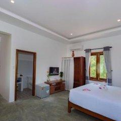 Отель An Bang Garden Homestay 3* Номер Делюкс с различными типами кроватей фото 6