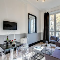 Апартаменты Sweet inn Apartments Saint Germain комната для гостей