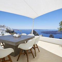 Отель Villa Etheras Греция, Остров Санторини - отзывы, цены и фото номеров - забронировать отель Villa Etheras онлайн балкон
