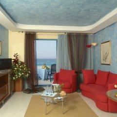 Отель Grand Hotel La Tonnara Италия, Амантея - отзывы, цены и фото номеров - забронировать отель Grand Hotel La Tonnara онлайн комната для гостей фото 3