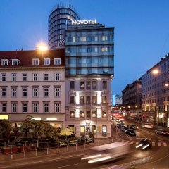 Отель Novotel Wien City Вена вид на фасад