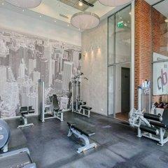 Отель Platinum Residence Qbik фитнесс-зал фото 4