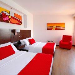 Отель Dann Carlton Cali Колумбия, Кали - отзывы, цены и фото номеров - забронировать отель Dann Carlton Cali онлайн комната для гостей фото 5