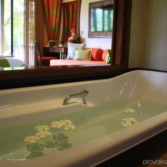 Отель Pimalai Resort And Spa Таиланд, Ланта - отзывы, цены и фото номеров - забронировать отель Pimalai Resort And Spa онлайн ванная