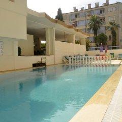 Aslan Kleopatra Beste Hotel бассейн
