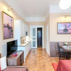 Отель Residence Milada Чехия, Прага - отзывы, цены и фото номеров - забронировать отель Residence Milada онлайн комната для гостей фото 21