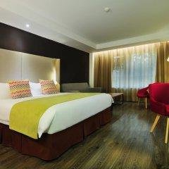 Отель Super 8 Xian Big Wild Goose Pagoda комната для гостей фото 3