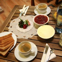 Отель Nuevo Suizo Bed and Breakfast питание