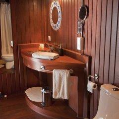 Отель Robinson's Cove Villas - Deluxe Wallis Villa Французская Полинезия, Муреа - отзывы, цены и фото номеров - забронировать отель Robinson's Cove Villas - Deluxe Wallis Villa онлайн ванная фото 2