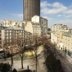 Hotel Du Parc Париж балкон