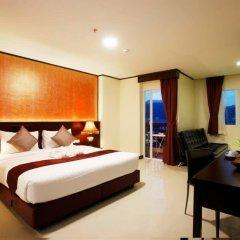 Отель Orchid Resortel Улучшенный номер разные типы кроватей