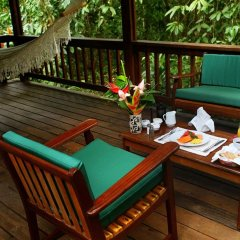 Отель The Lodge at Pico Bonito балкон