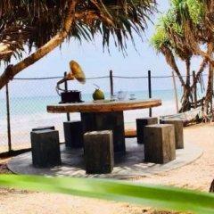 Отель Villa Sri Beach пляж фото 2