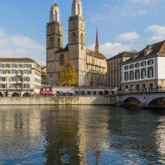 Отель City Backpacker Biber Швейцария, Цюрих - отзывы, цены и фото номеров - забронировать отель City Backpacker Biber онлайн приотельная территория фото 2