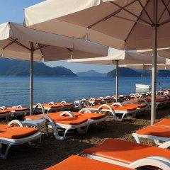 Elegance Hotels International Турция, Мармарис - отзывы, цены и фото номеров - забронировать отель Elegance Hotels International онлайн пляж фото 2