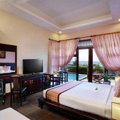 Отель Romana Resort & Spa Вьетнам, Фантхьет - 9 отзывов об отеле, цены и фото номеров - забронировать отель Romana Resort & Spa онлайн комната для гостей фото 3