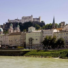Отель Mercure Salzburg Central Австрия, Зальцбург - 3 отзыва об отеле, цены и фото номеров - забронировать отель Mercure Salzburg Central онлайн приотельная территория фото 2