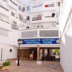 Отель Central Park Apartamentos вид на фасад