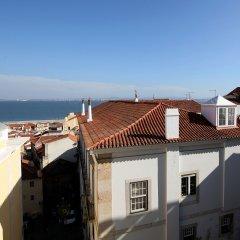 Hotel Convento do Salvador Лиссабон балкон