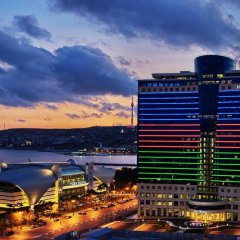 Отель Hilton Baku Азербайджан, Баку - 13 отзывов об отеле, цены и фото номеров - забронировать отель Hilton Baku онлайн приотельная территория