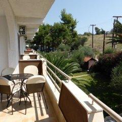 Отель Olympic Bibis Hotel Греция, Метаморфоси - отзывы, цены и фото номеров - забронировать отель Olympic Bibis Hotel онлайн балкон