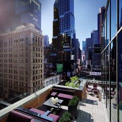 Отель Novotel New York Times Square балкон