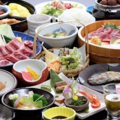 Отель Syukubo Aso Минамиогуни питание фото 2