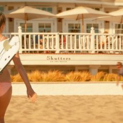 Отель Shutters On The Beach Санта-Моника спортивное сооружение