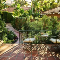 The Beverly Hills Hotel балкон