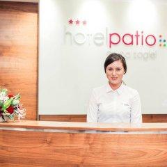 Отель Patio Польша, Вроцлав - отзывы, цены и фото номеров - забронировать отель Patio онлайн интерьер отеля фото 3