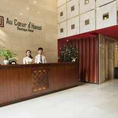Отель Au Coeur dHanoi Boutique Hotel Вьетнам, Ханой - отзывы, цены и фото номеров - забронировать отель Au Coeur dHanoi Boutique Hotel онлайн интерьер отеля