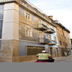 B.a. Hostel Лиссабон вид на фасад