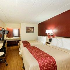 Отель Red Roof Inn Columbus West Колумбус комната для гостей фото 5