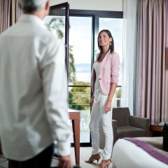 Отель Hilton Evian-les-Bains комната для гостей фото 4