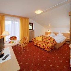Отель Garni Juval Тироло комната для гостей фото 4