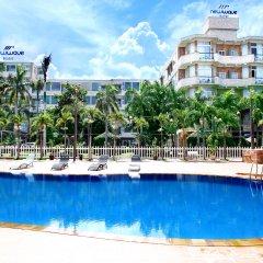 Отель New Wave Vung Tau Вьетнам, Вунгтау - отзывы, цены и фото номеров - забронировать отель New Wave Vung Tau онлайн бассейн фото 2