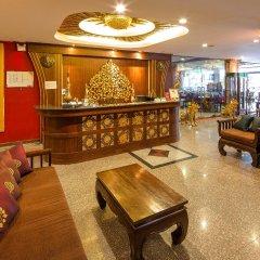 Tanawan Phuket Hotel интерьер отеля