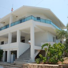 Отель Vila Abiori Албания, Ксамил - отзывы, цены и фото номеров - забронировать отель Vila Abiori онлайн вид на фасад
