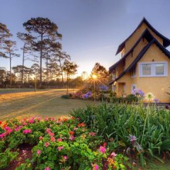Отель Binh An Village Dalat Resort Далат