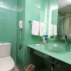 Отель Shenzhen Caiwuwei Hotel Китай, Шэньчжэнь - отзывы, цены и фото номеров - забронировать отель Shenzhen Caiwuwei Hotel онлайн ванная