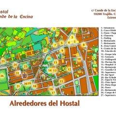 Отель Hostal Conde De La Encina Трухильо городской автобус